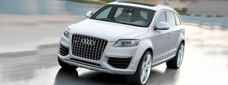 Audi Q7 Series Wedding Car Hire Sydney NSW